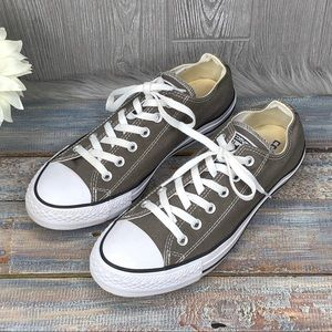 Converse All Stars Gray Taupe Canvas Sneakers